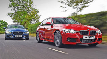BMW 3 Series vs Jaguar XE