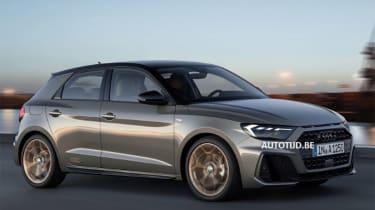 Audi A1 - leak front action