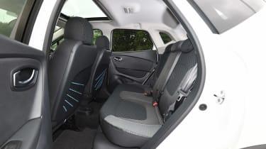 Renault Captur Mk1  - rear seats