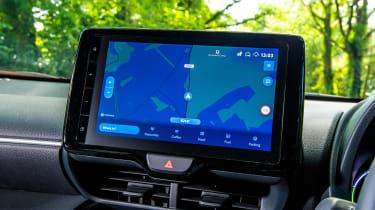 Toyota Yaris Cross - infotainment