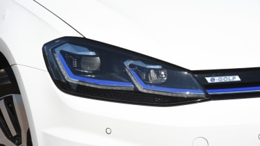 Long-term test - VW e-golf - headlight