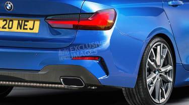 BMW 2 Series Gran Coupe - rear detail (watermarked)