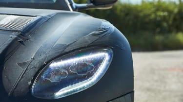 Aston Martin DBS Superleggera prototype - front light detail