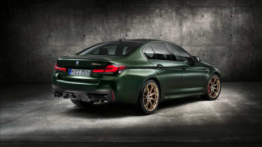 BMW M5 CS - studio rear