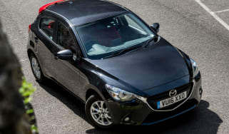 Mazda 2 Red Edition - overhead