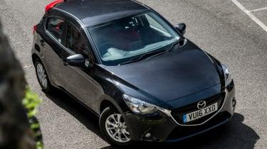 Mazda 2 Red Edition - overhead
