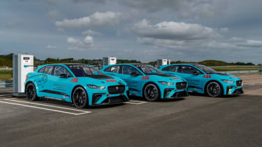 Jaguar I-Pace eTrophy - line-up