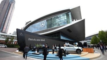2017 Frankfurt Motor Show - Mercedes stand