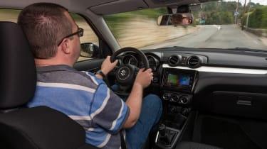 New Suzuki Swift 2017 - Vosper John driving