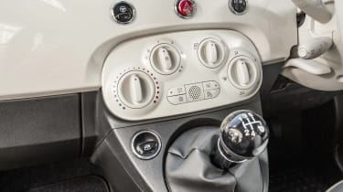 Fiat 500 centre console