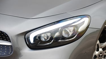 Mercedes SL 400 - front light