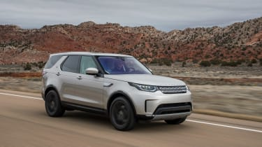 Land Rover Discovery 2017 tracking