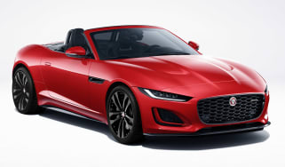 Jaguar F-Type R-Dynamic Black - front