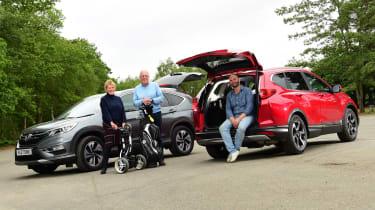 Honda CR-V Hybrid - third report header