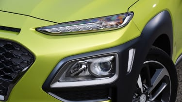 Hyundai Kona Diesel - front detail