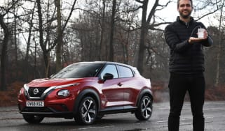 Nissan Juke Tekna: long-term test review - first report header
