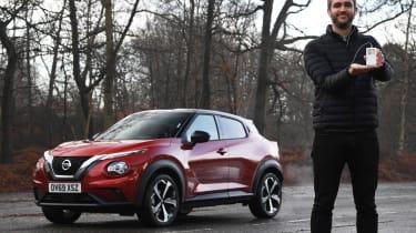 Nissan Juke Tekna: long-term test review - first report header