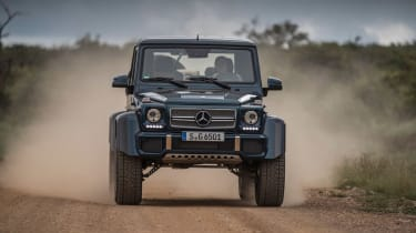 Mercedes-Maybach G 650 Landaulet - full front action dirt