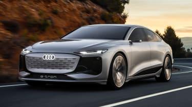 Audi A6 e-tron concept - front