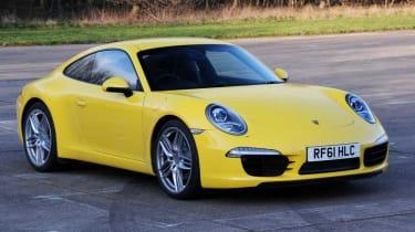 Porsche 911 Carrera S front three-quarters