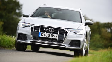 Audi A6 Allroad - front action