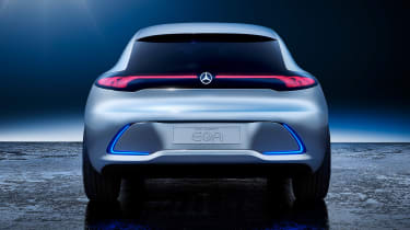 Mercedes EQA concept - full rear