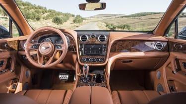 Bentley Bentayga cabin - Footballers' cars