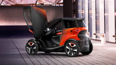 SEAT Minimo concept - doors open