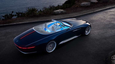 Vision Mercedes-Maybach 6 Cabriolet - above night