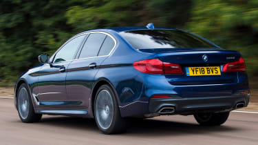 BMW 5 Series - Rear Tracking