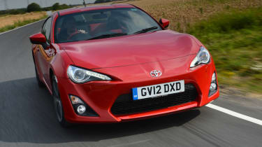 Toyota GT 86 front