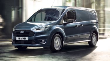 New Ford Transit Connect and Courier models