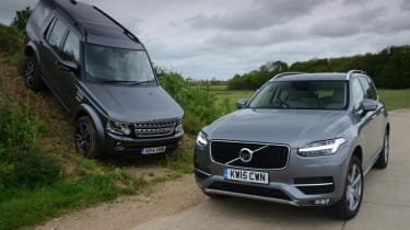 Volvo XC90 vs Land Rover Discovery