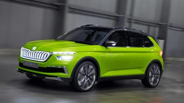Skoda Vision X concept - front action