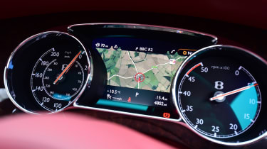 Bentley Mulsanne Speed 2017 - instruments