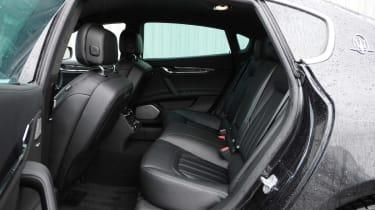 Maserati Quattroporte GTS rear seats