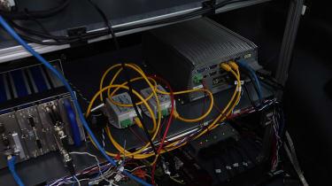 Renault Kangoo wireless charging system detail