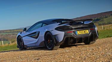 McLaren 600LT - rear static