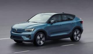 Volvo C40 - front
