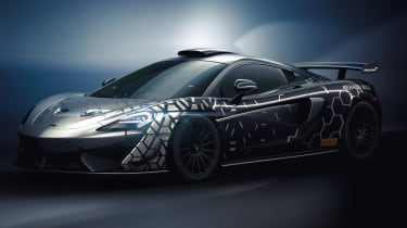 McLaren 620R - front 3/4 static