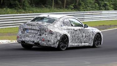 BMW M2 spy - rear