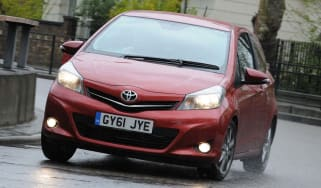 Toyota Yaris front action