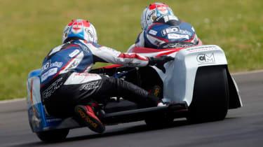Isle of Man TT sidecar rear end