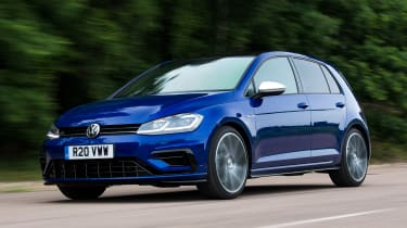 Volkswagen Golf R Performance Pack - front