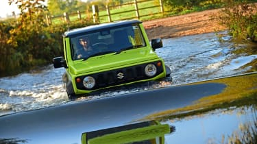 Suzuki Jimny - wading