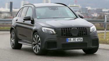 Mercedes-AMG GLC 63 front side