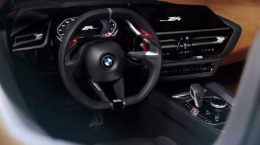 BMW Concept Z4 leaked - dash