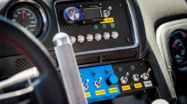 Nissan GT-R 1,390bhp drift car - dashboard