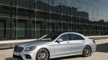 New Mercedes S-Class - front static