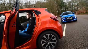 Peugeot 208 vs Renault Clio - Sean Carson